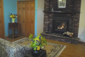 2nd fireplace 1st floor